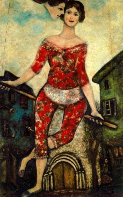 Marc Chagall L'acròbata