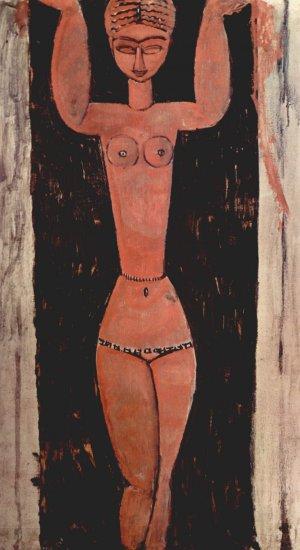 cariàtide dempeus Amedeo Modigliani