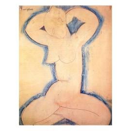 Amedeo Modigliani, Cariàtide, 1913
