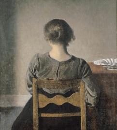 Vilhelm Hammershoi rest 1905