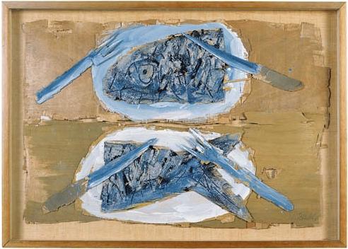Natura morta, Miquel Barceló, 1983