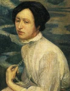 Retrat d'Angelina Beloff, 1909, Diego Rivera