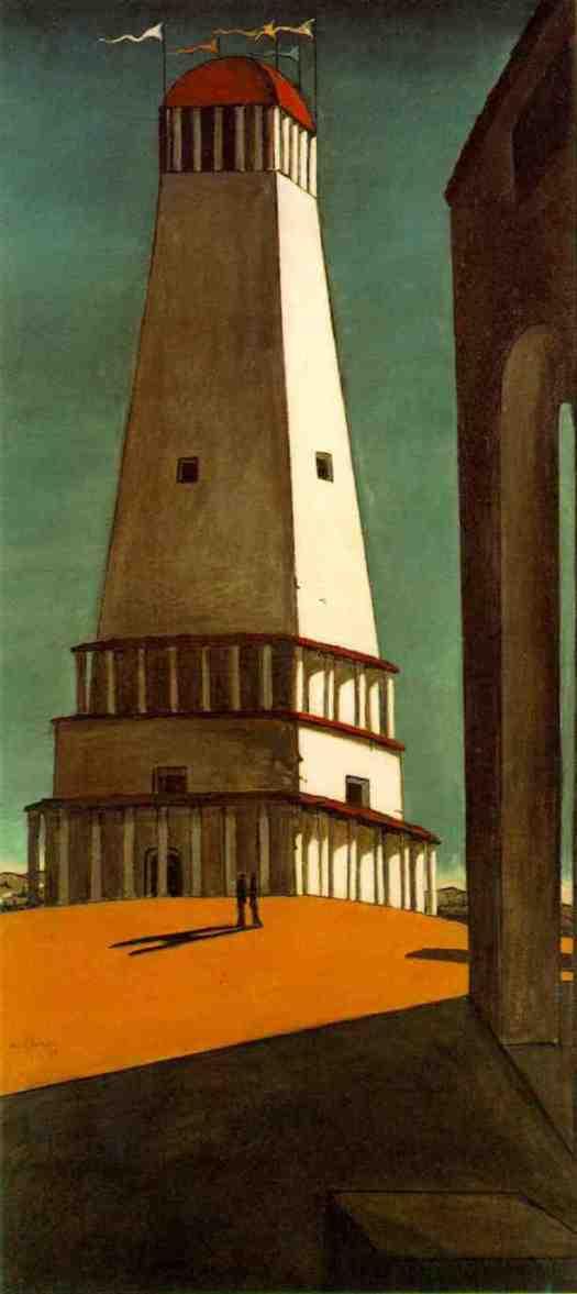 La nostalgia de l'infinit, Georgio De Chirico 1912-14