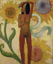 Dona caribenya, Paul Gauguin, 1889