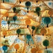 Paisatge rítmic, Paul Klee, 1920