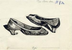 Estudi de sabates, 1956