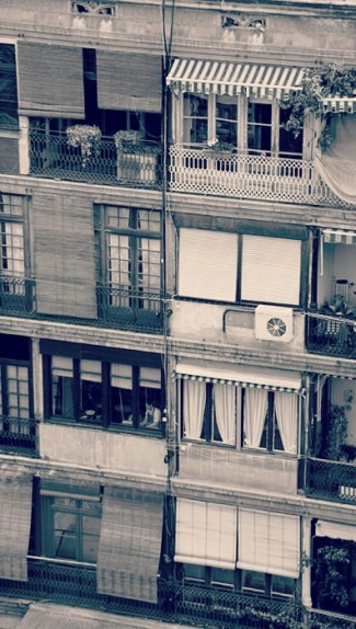 balconies in bcn Hans & Liek via Flickr_detall