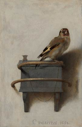 The Goldfinch_Care Fabritius, 1654 www.mauritshuis.nl